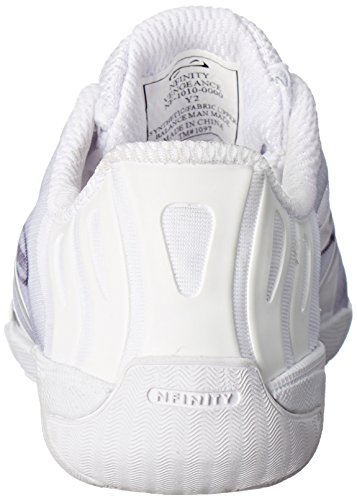 Nfinity Vengeance Cheer Shoe   Competition & Varsity Cheer Gear   Adult & Youth Cheerleading Uniform Shoes   Cheerleader Supplies   Nfinity Signature Bubble Laces   White