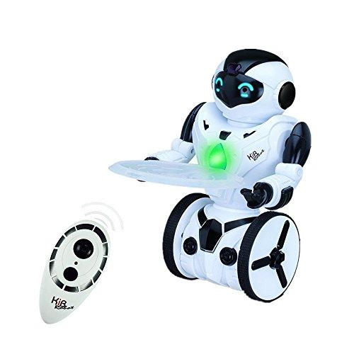 SainSmart Jr. KIB RT-08 Smart Selbst Balancing Roboter, Wireless Funk Fernbedienung Roboter Spielzeug, 5 Betriebsarten (Tanzen, Boxen, Fahren, Beladen, Sensing-Geste), Weiß
