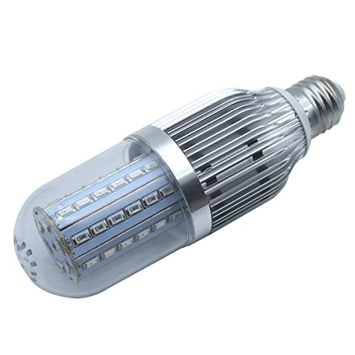 LED Grow Light Bulb 54W, Qicai H Plant Light Bulb E27 Bulbs for Indoor Garden Greenhouse and Hydroponic Plants, 54 LEDs 19 Blue/36 Red