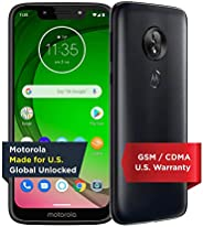 Moto G7 Play with Alexa Push-to-Talk – Unlocked – 32 GB – Deep Indigo (US Warranty) – Verizon, AT&T, T–Mob