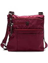 Osgoode Marley Cityscape Large Crossbody Raisin