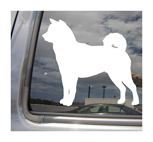 Right Now Decals - Shiba Inu Dog - Japanese Brushwood Turf Ken Shibe Pure Breed Purebred - Cars Trucks Moped Helmet Hard Hat Auto Automotive Craft Laptop Vinyl Decal Store Window Wall Sticker 01675