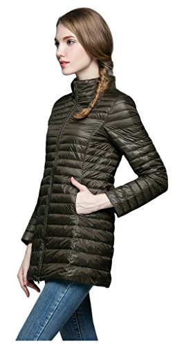 Ultra Soft Elezay Weight Ashy Winter Jacket Light Coat Down Women's qwY70O