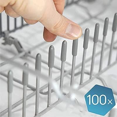 """Las tapas lavavajillas originales de Plemont® [pack de 100] - Tapas accesorios universal de lavavajillas """"Made in Germany"""" - repuestos de protección ..."""