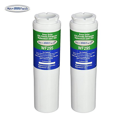 Aqua Fresh WF295 Replacement Refrigerator Water Filter for Maytag UKF8001,Whirlpool 4396395, EDR4RXD1,Puriclean II,9006 (2 Pack) by Aqua Fresh