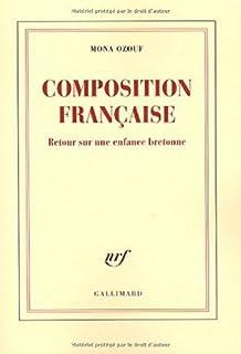 Composition française : retour sur une enfance bretonne, Ozouf, Mona