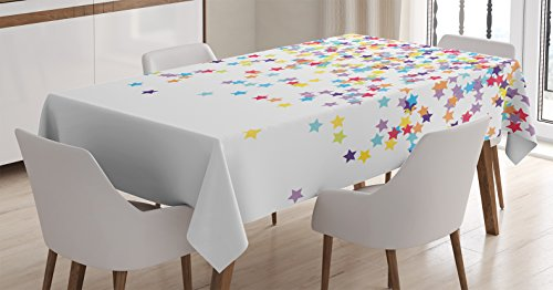 Ambesonne Tablecloth Anniversary Celebration Rectangular product image