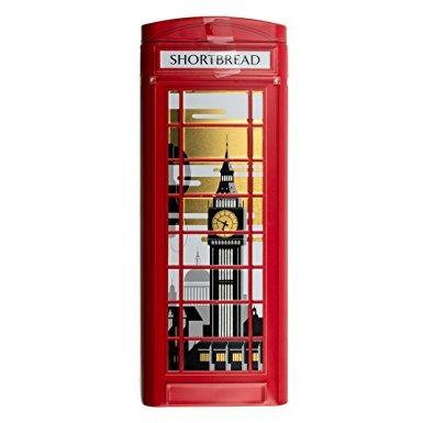 Marks & Spencer Shortbread in British Phonebox Tin - Tin Shortbread