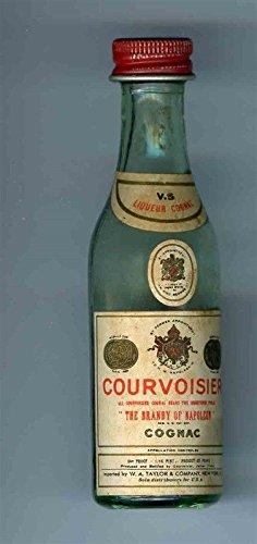 Courvoisier Vs Cognac - Courvoisier Cognac VS Glass Mini Bottle Kick Up