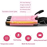 [2020UPGRADED Version] Hair Curling Iron 1 inch 3