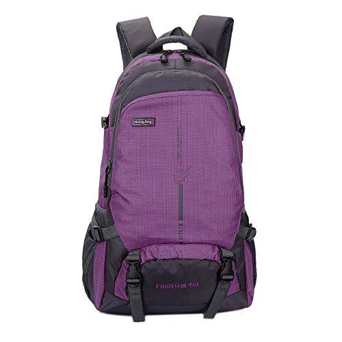 Mountaineering Bag Outdoor Männer und Frauen Schulter Rucksack Wanderpackage Bergsteigen Taschen , Gelb 25l