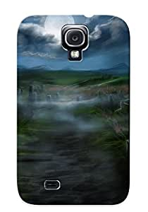 Skyisblue High Grade Flexible Tpu Case For Galaxy S4 - Halloween( Best Gift Choice For Thanksgiving Day)