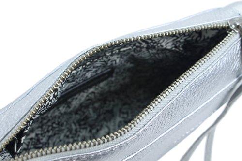 Rebecca Minkoff Mini Mac H001E001 Body Bag,Silver,One Size