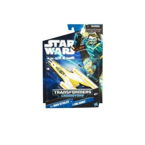 - Star Wars Transformers Crossovers - Anakin Skywalker to Y-Wing Bomber