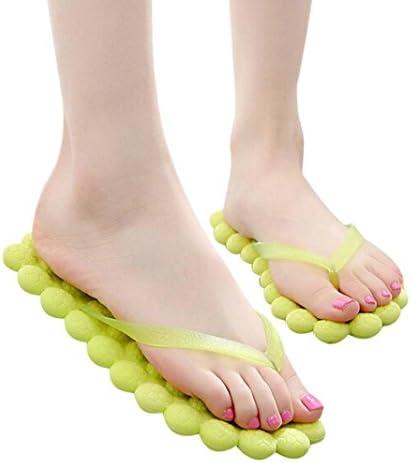 Sunfei Women's Summer Fashion Casual Flip-flops Slippers Beach Shoes Traveling Massage