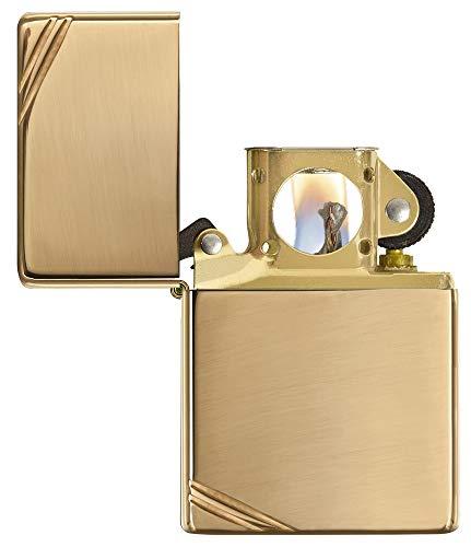 - Zippo Pipe Lighter: Vintage - High Polish Brass 270PL