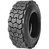 HORSESHOE 12-16.5 16 PLY Skid Steer Loader Tubeless Tire w/Rim-Guard Super Duty H Load 12x16.5 NHS SKS4 T126