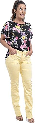 Xpression Donna Fashion Jeans Yellow Xpression Fashion Donna Jeans a8w4faxq