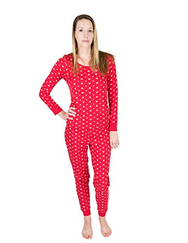 Leveret Women's Printed 2 Piece Pajama Set 100% Cotton (Medium, Pink ()