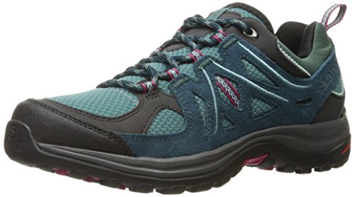 Salomon Damen Ellipse 2 Aero W Hiking-und Multifunktionsschuhe, Blau (Artic/Reflecting Pond/Sangria), 36 EU