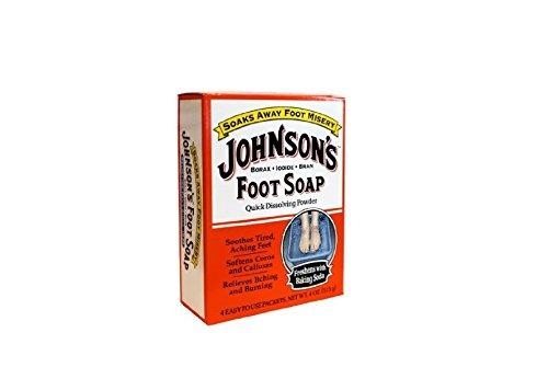 Johnson's Foot Soap Economy Size 8-Count (並行輸入品) B000GCIBI0