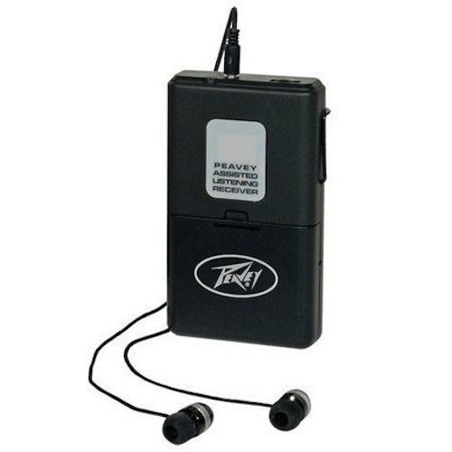 (4) Peavey ALSR 72.9 Mhz Assisted Listening Receiver Body Packs for ALS 72.9 System by Peavey (Image #2)