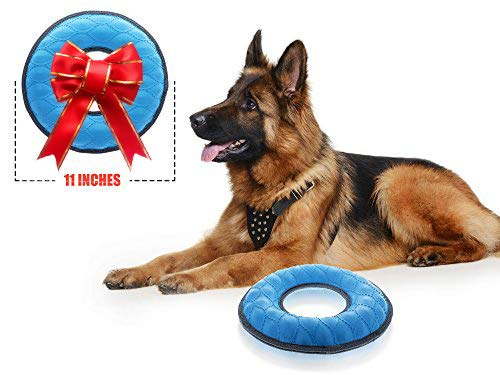 Toy Water Dog (Tuff Pupper Multi-Use Floating Dog Ring Toy & Dog Water Toy | Great Dog Fetch Toy for Exercise - Bounces On Surfaces | NOT for Destructive Chewers)