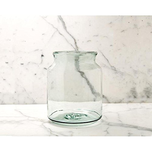 Eco-Friendly Home Decor - Recycled Glass Mason Jar Vase