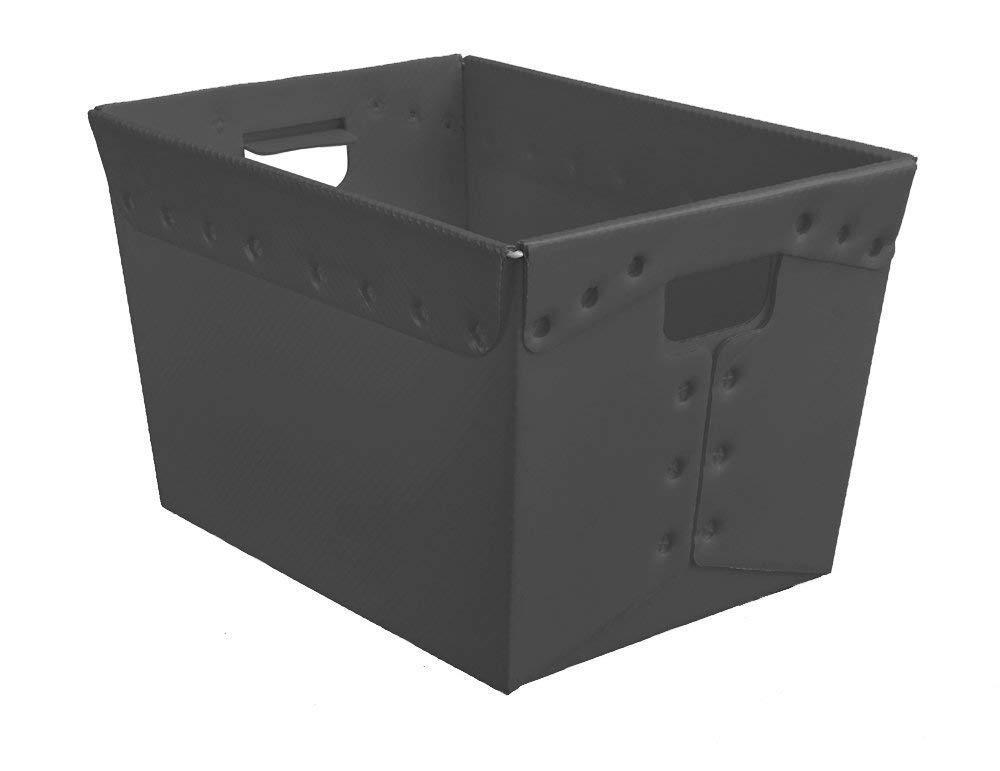 Postal Tote, 18 X 13 X 12 (Pack of 3) (Black)