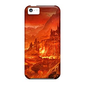 Premium Durable Game Wallpapers Fashion Tpu Iphone 5c Protective Case Cover