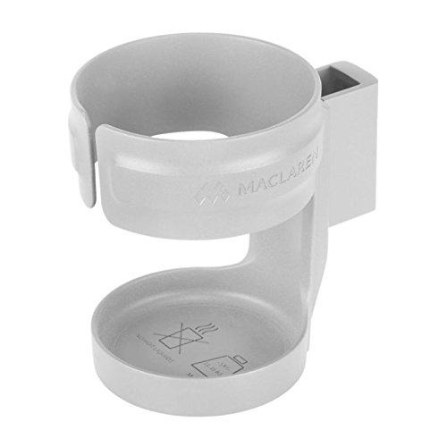 Maclaren Cup Holder, Silver (Umbrella Stroller Cup Holder)