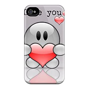 New Premium ABr7618Jznn Diy For SamSung Note 4 Case Cover I Love You Protective Cases Covers