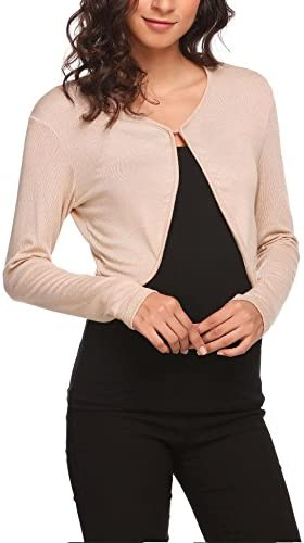 HOTOUCH Cropped Knitwear Cardigan Sweater product image