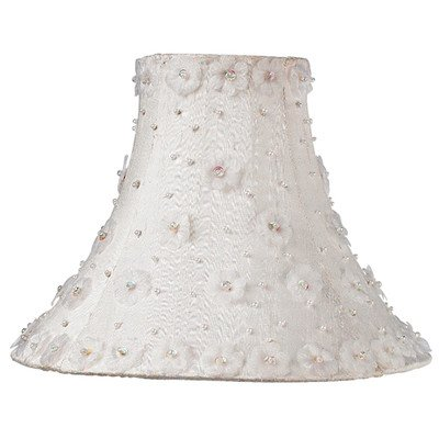 Jubilee Collection 3041 Petal Flower Shade, Medium, White by Jubilee Collection (Image #2)
