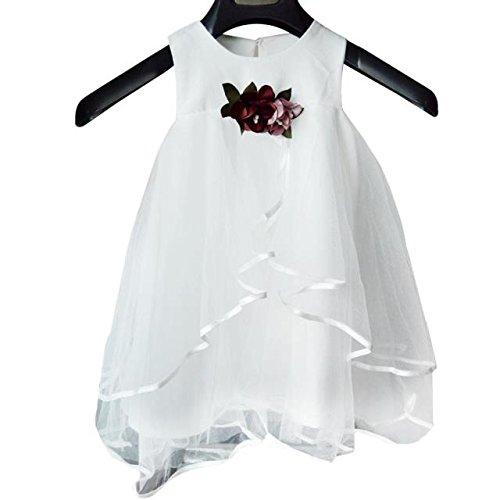 Fille D'été Manches Voile Enfant En Pettiskirt Sans Abby Princesse Robe Fqap6w5