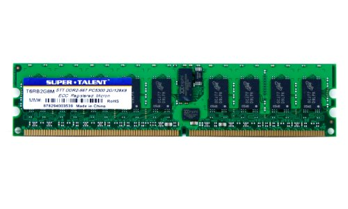 7 2GB/128x8 ECC/REG Micron Chip Server Memory T6RB2G8M ()