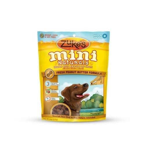 Moisturizing Dog Treats (Zuke's Mini Naturals Dog Treats Peanut Butter - 16 Oz)