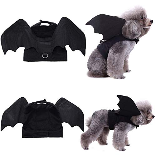 Dog Referee Costume (LOCOLO Pet Bat Wings Dogs, Pet Dog Costume, Bat Wings Pet Halloween Costumes)