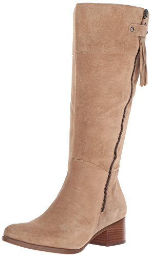 Naturalizer Women's Demi Wc Riding Boot, Oatmeal, 9 M US by Naturalizer