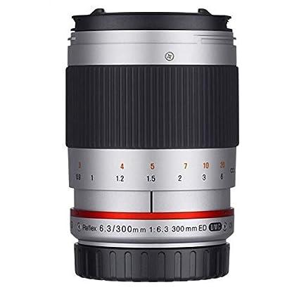 Samyang Reflex f/6.3 300mm Sony E MILC Plata: Amazon.es: Electrónica