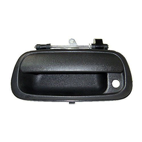 Tailgate Latch Handle - Toyota Tundra Truck 00 - 06 Rear Tailgate Textured Black Door Handle 69090-0C010
