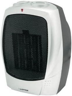 Lloytron Ptc Ceramic Heater 1500 Watt Silver Amazon Co Uk