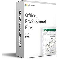 Microsoft Office 2019 - Professional Plus - Voor 1 PC (Windows 10) - Eenmalige aankoop - Meerdere talen (Licentie in…