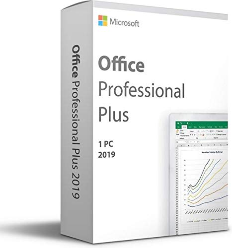 Microsoft Office 2019 – Professional Plus – Voor 1 PC (Windows 10) – Eenmalige aankoop – Meerdere talen (Licentie in…