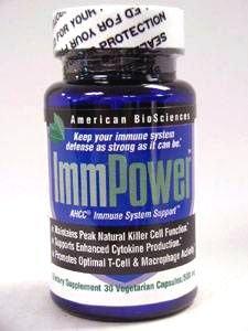 BioSciences américains - ImmPower AHCC 30 vcaps (pack de 3)