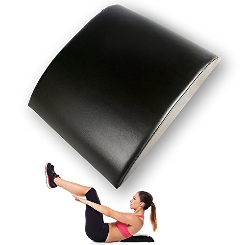 EDTara Ab Exercise Sit Ups Pad Abdominal Trainer Mat Comfortable PU Lower Back Support Fitness Equipments