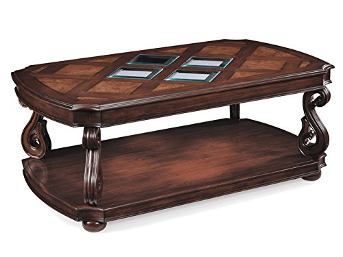 Magnussen T1648-43 Harcourt Cherry Finish Wood Rectangular Cocktail Table - Neo Classic Cocktail Table