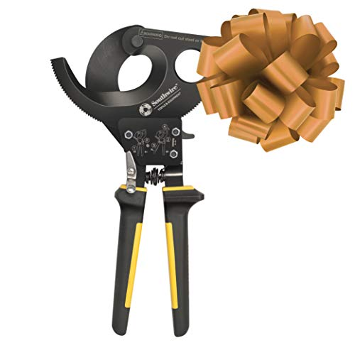 Southwire Tools & Equipment CCPR400 Ratcheting Cable Cutters With Comfort Grip Handles