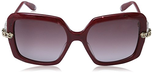 45ac902d09071 Moschino - Lunette de soleil MO769S Rectangulaire - Femme Red frame  brown  sh.