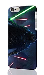 Star Wars Episode VII Pattern Image - Protective 3d Rough Case Cover - Hard Plastic 3D Case - For iPhone 6 Plus- 5.5